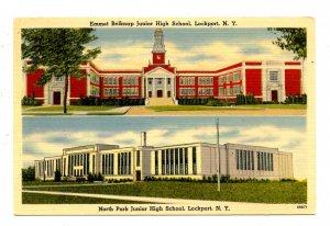 NY - Lockport. North Park & Emmet Belknap Junior High Schools