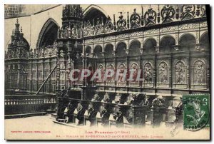Old Postcard The Stalls Pyrenees St. Bertrand de Comminges near Luchon