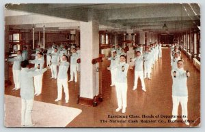 Dayton Ohio~National Cash Register~Heads of Departments at Exercise Class~c1910