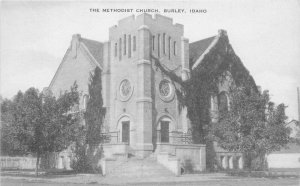 Artvue Burley Idaho Methodist Church 1930s Postcard 20-8349