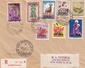 KATANGA , Africa, 1960 ; UN Occupation of Congo Cover