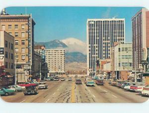 Unused Pre-1980 SHOPS ALONG STREET Colorado Springs CO hn0745