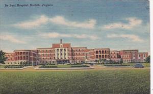Virginia Norfolk De Paul Hospital 1946