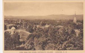 New Hampshire Hanover View From The Tower Dartmouth College Albertype