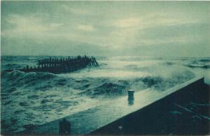 Italy Cinzano advert. vintage postcard Brunner & C. Como seascape