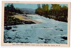 White Water, Tomahawk Lodge, Frence River, North Bay, Ont