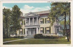 Indiana Crawfordsville Lane Home