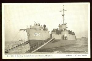 Official US Navy Photo LCI at Solomons, Md