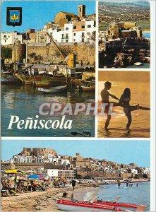 Postcard Modern Peniscola