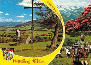 Mittelberg Oberrallgaeu Festival Kirche Church Cross Mountains Landscape