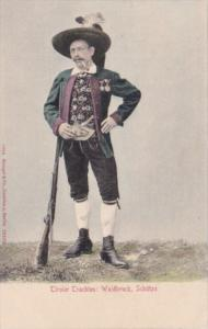 Austria Tiroler Trachten Waidbruck Schuetze Typical Hunter