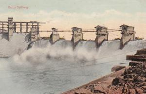Panama Canal The Gatun Spillway 1919