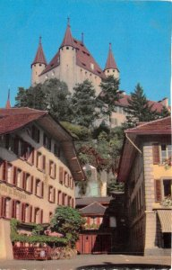Lot 62 switzerland castle thoune with the town hall square