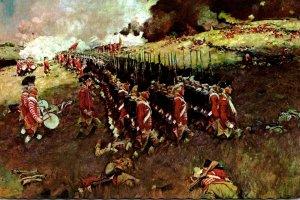 The Battle Of Bunker Hill 17 June 1775