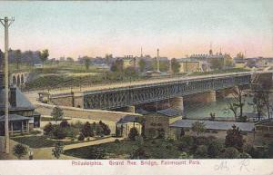Pennsylvania Phildelphia Girard Avenue Bridge Fairmount Park