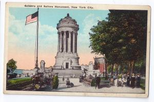 Soldiers Sailors Monument New York City NY