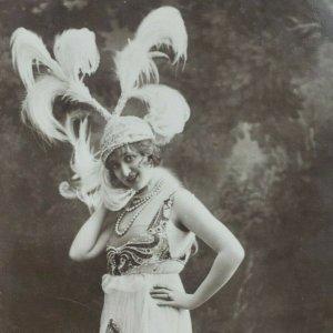 Gaby Deslys French Silent Film Theatre Actress Dancer Singer Photo Postcard F53