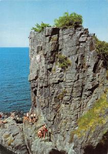Denmark Bornholm The sanctuary cliff Ro