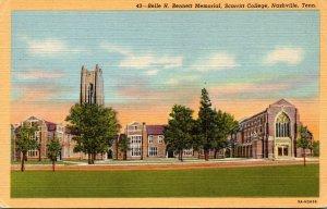 Tennessee Nashville Scarritt College Belle H Bennett Memorial Curteich