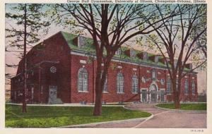 Illinois Champaign George Huff Gymnasium University Of Illinois Curteich