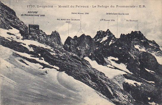 France Dauphine Massif du Pelvoux Le Refuge du Promontoir