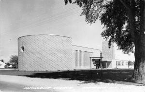 Mendota Illinois~Methodist Church~1950s Real Photo Postcard~RPPC