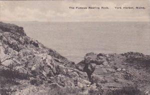 The Famous Roaring Rock York Harbor Maine Albertype 1922