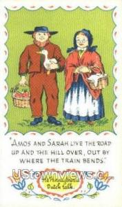 Amish Country, Pennsylvania, PA, Post Card -pa_zz_0059