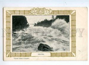 247808 FINLAND IMATRA Grand Hotel Cascade Vintage ART DECO PC