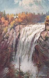 TUCK #2557, Falls of Montmorency near Quebec, Canada, PU-1909