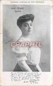 Postcard Old Opera Rosse Feart Paul Boyer Wine Desiles