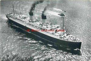 French Line Steamship, Transatlantic Steamer Ile-De-France