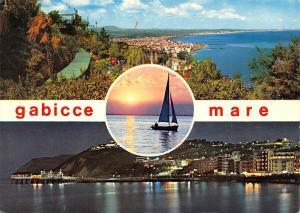 Italy Gabicce Mare Riviera Adriatica Lake Sunset Panorama