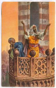 AS, Mueddins Calling To Prayer, 1900-1910s