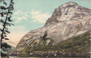 Mountains, Partial View, Field, British Columbia, Canada, 1900-1910s