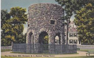 Rhode Island Newport The Old Stone Mill Ancient Viking Tower