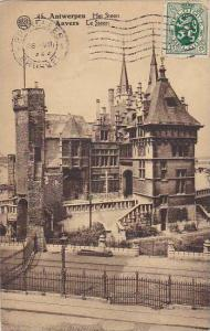 Belgium Antwerpen Anvers Le Steen 1929