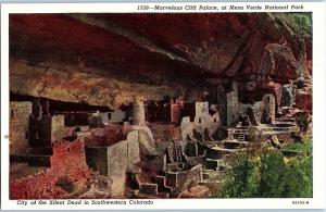 City of the Silent Dead in SW Colorado, Marvelous Cliff Palace Z4