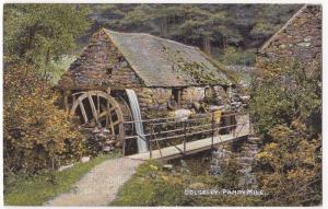 Merionethshire; Dolgelly, Pandy Mill PPC 1908 Kilmaurs PMK, By C Thompson & Co
