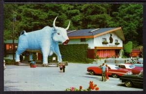 Paul Bunyan's Blue Ox Babe,Trees of Mystery,Redwood Highway,CA