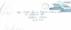 Entier Postal Stationery Postal Canadian Charter Boat Courtenay
