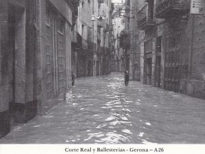 Postal 62424 : Corte Real y Ballesterias - Gerona