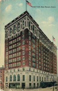 New Haven Connecticut~Hotel Taft~1910 Postcard