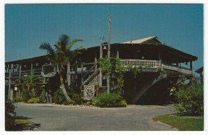 Vero Beach, Florida, Vintage Postcard View of The Driftwood Inn