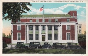 SPARTANBURG , South Carolina , 1930-40s ; Post Office & Government Building