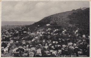 View on Mount Auriel , FREETOWN , Sierra Leone , 00-10s