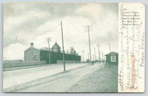 Newport News Virginia~Shipbuilding & Dry Dock Co~General Offices~1909