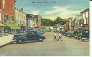 Winthrop,Maine, Main Street