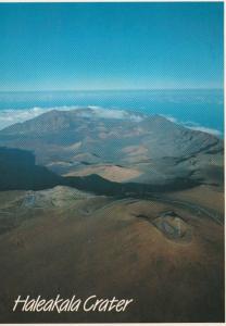 Hawaii Maui Haleakala Crater 1987