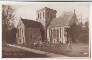 Wiltshire; Amesbury Parish Church RP PPC 1934 PMK, By Photochrom